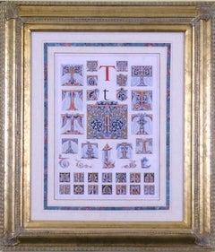 """Initial Letters """"T""""  (Alphabet)"""