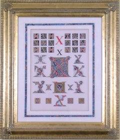 "Initial Letters ""X""  (Alphabet)"