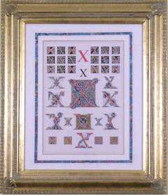 "Initial Letter ""X""  (Alphabet)"