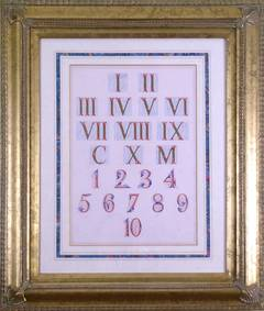Roman and Arabic Numerals (Numbers)