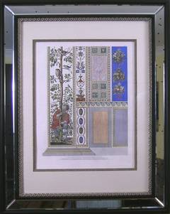 Raphael's Loggia Pair.  Plate VII.  Pilaster Bottom