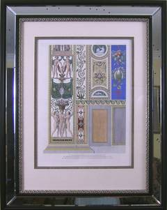 Raphael's Loggia (Pair).  Plate X.  Pilaster Bottom.
