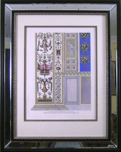Raphael's Loggia  Plate XII. Pilaster Bottom. Priced as a pair with Pilaster Top