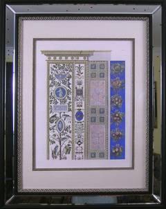 Raphael's Loggia (Pair).  Plate VII.  Pilaster Top