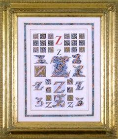 """Initial Letters """"Z"""" (Alphabet)"""