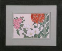 """Floral - """"Geraniums"""""""