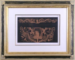 Gemaltes Ornament. (Etruscan Vase Design),
