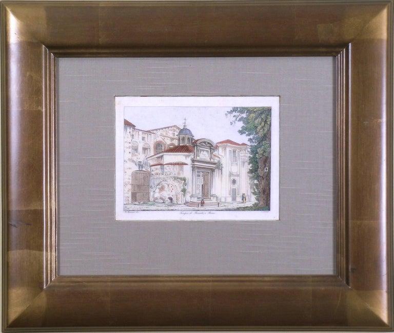 Tempio di Romolo, e Remo - Print by Antonio Aquaroni