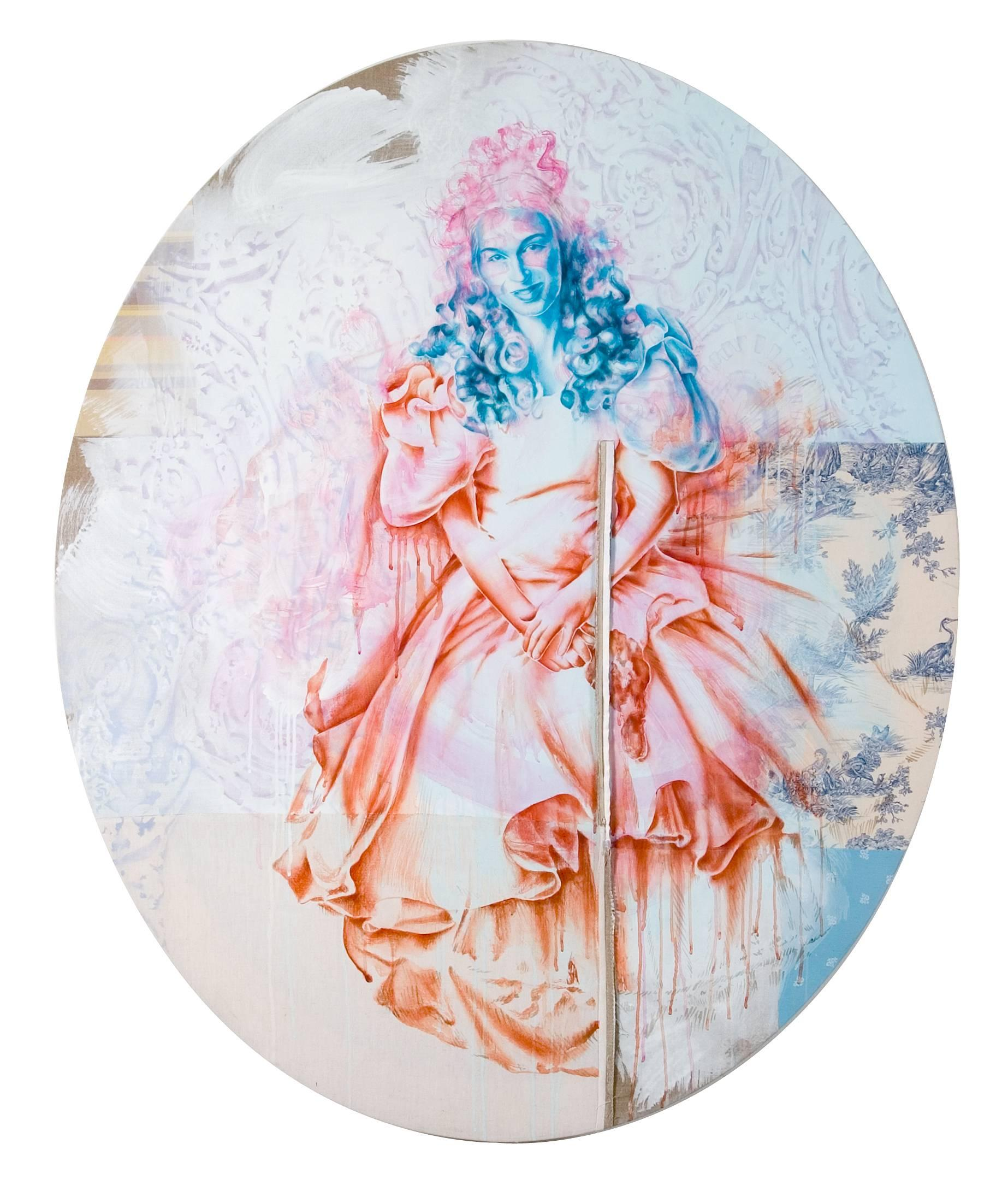 Fides Becker - Robe 4, Painting For Sale at 1stdibs