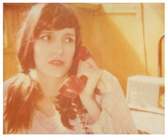 Today Good is Bad - The Girl behind the White Picket Fence - based on a Polaroid
