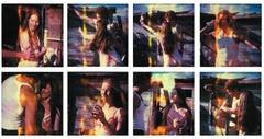 Whisky Dance I - Sidewinder - 8 pieces based on SX-70 Polaroids