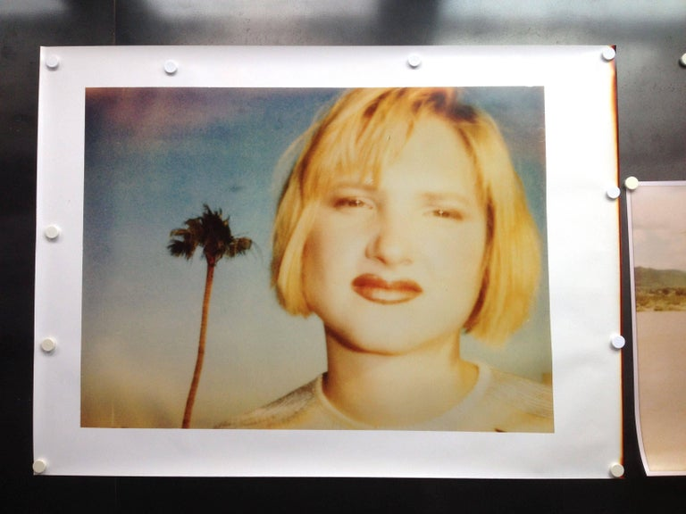 Kirsten Red Lips (California Blue Screen)