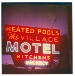 Village - heated Pool (The Last Picture Show), analog, mounted