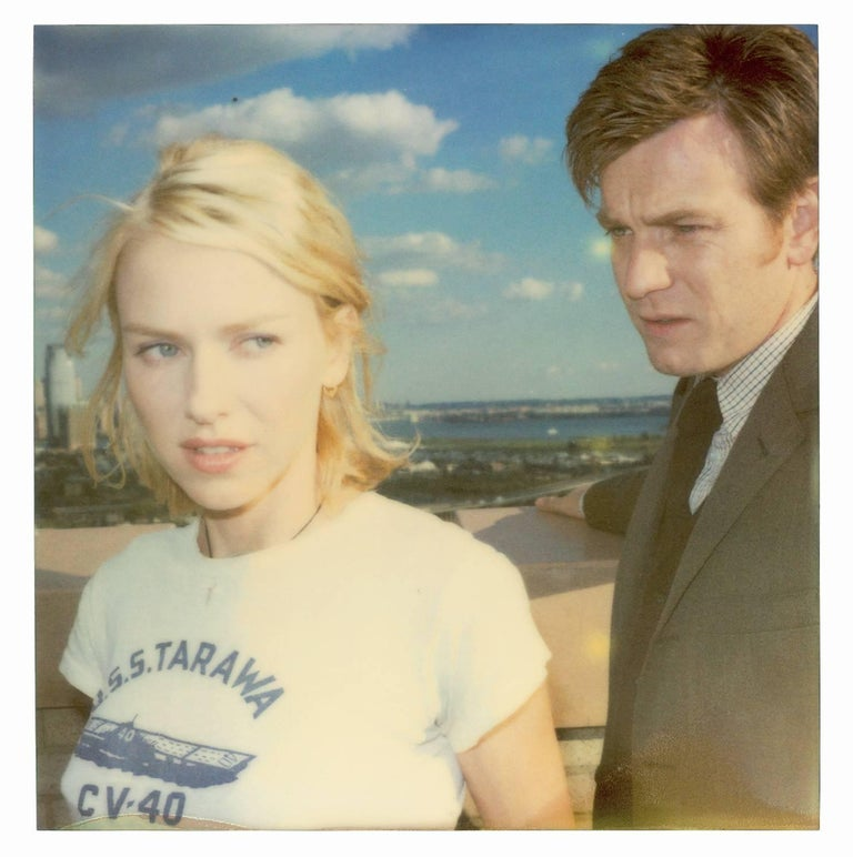 Lila and Sam from the movie Stay with Ewan McGregor, Naomi Watts, not mounted - Gray Color Photograph by Stefanie Schneider