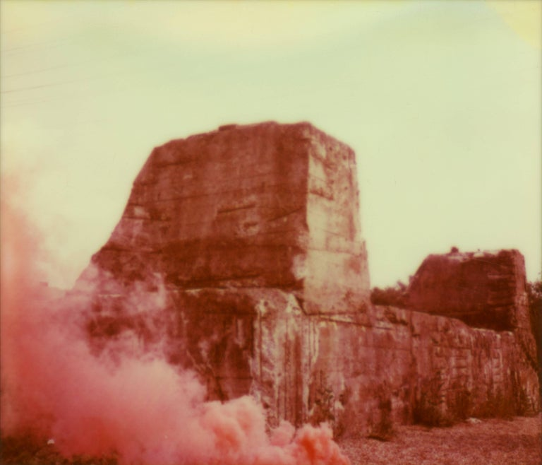 Julia Beyer Color Photograph - Cloudy Canyon - Forever and Ever