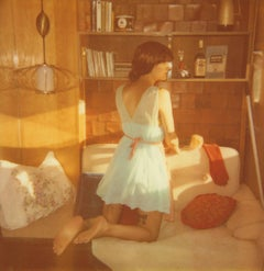 Dusting,  Contemporary, 21st Century, Polaroid, Figurative Photography
