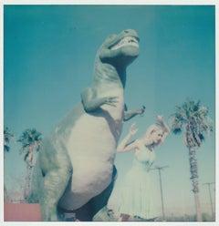 Jurassic Park, Contemporary, 21st Century, Polaroid, Figurative Photography