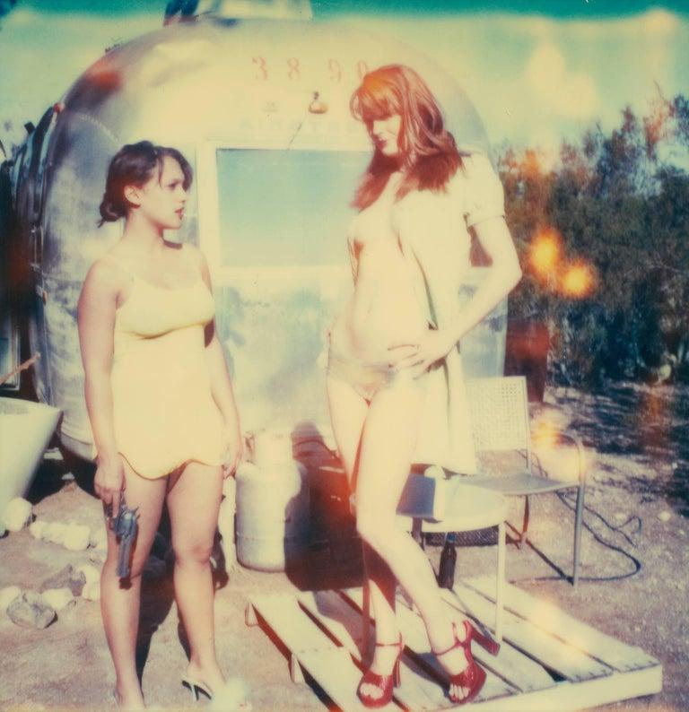 Stefanie Schneider Color Photograph - Daisy & Austin, Contemporary, 21st Century, Polaroid, Figurative Photography