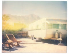 Desert Sands - Contemporary, 21st Century, Polaroid, Landscape Photography