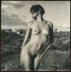 Swept Away, 50x50cm, 21st Century, Polaroid, Nude Photography