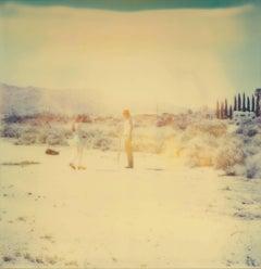 Crow Burial - Contemporary, Polaroid, Analogue, Photography