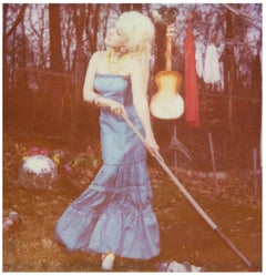 Traces of Tears- Cyndi Lauper, Polaroid, Contemporary, figurative, photography