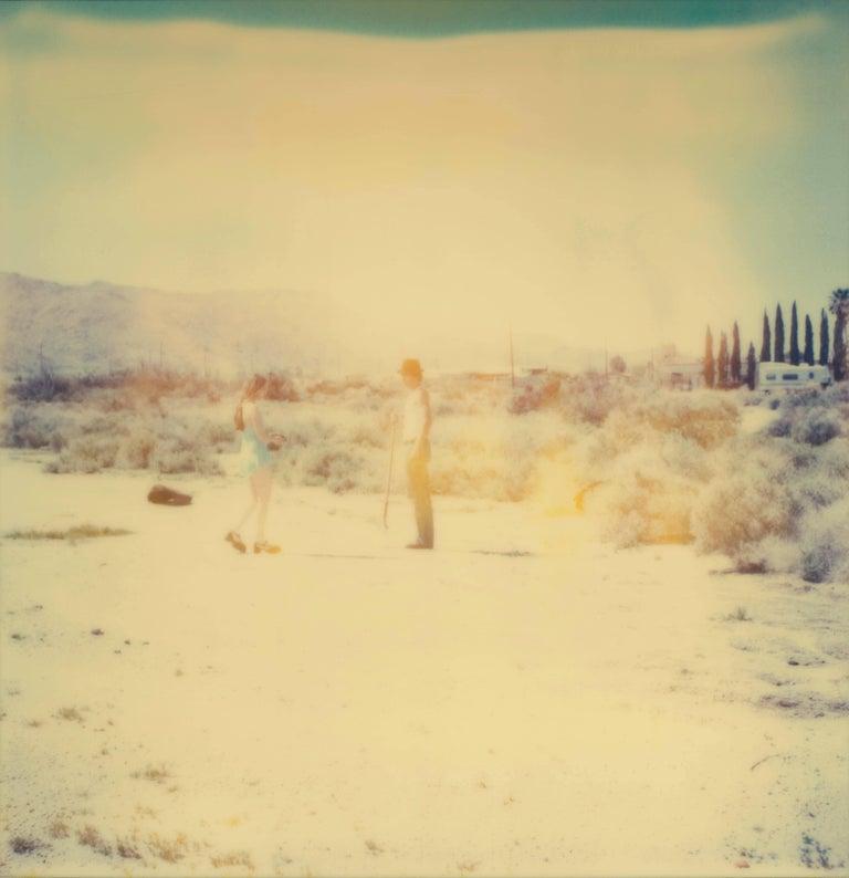 Stefanie Schneider Figurative Photograph - Crow Burial - Contemporary, Polaroid, Analogue, Photography, Figurative,