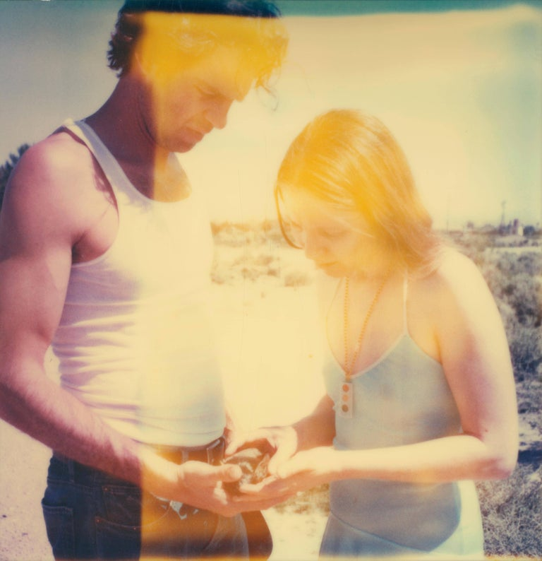 Stefanie Schneider Figurative Photograph - Crow - Contemporary, Expired Polaroid, Analogue, Photograph