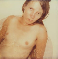 Stevie - Contemporary, Figurative, nude, Portrait, Polaroid, Expired