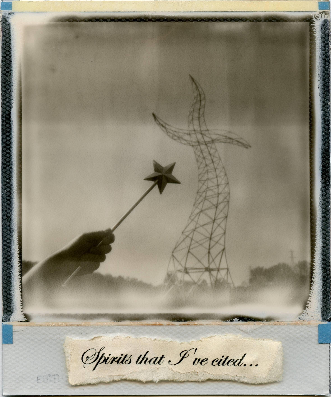 The Sorcerers Apprentice, 21st Century, Polaroid, Landscape Photography, Contemp
