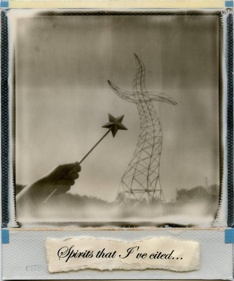 The Sorcerers Apprentice, 21st Century, Polaroid, Landscape Photography, Contemp - Mixed Media Art by Julia Beyer