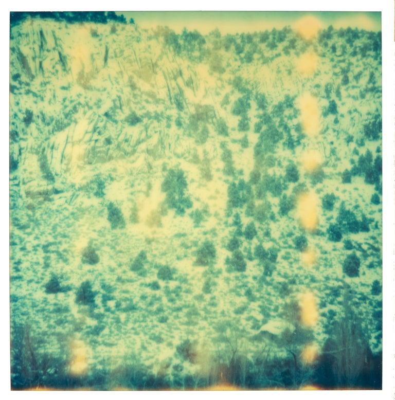 Stefanie Schneider Color Photograph - MM- Contemporary, Landscape, Polaroid, Expired, Analog, 21st Century, Wabi-Sabi
