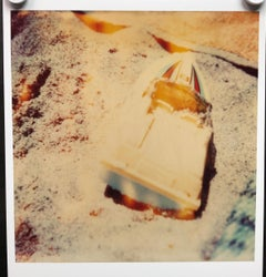 Contemporary, Abstract, Landscape, Boat, beach, Polaroid, expired, Schneider