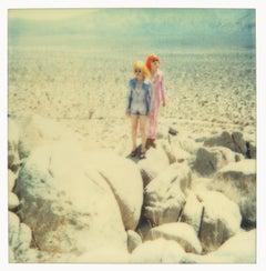 On the Rocks - Contemporary, 21st Century, Polaroid, Figurative, Photograph