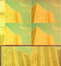 Contemporary, Abstract, Landscape, Polaroid, Schneider, 21st Century, City,