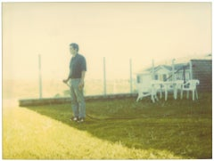 Contemporary, 21st Century, Polaroid, Figurative, Photograph, Man, Schneider