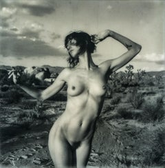 Can't fight the Moonlight, 21st Century, Polaroid, Nude Photography, B&W