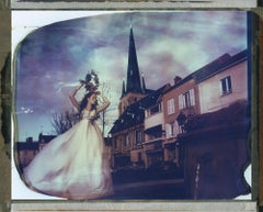 ±Íà Contemporary, Figurative, Woman, Polaroid, photograph, Church,