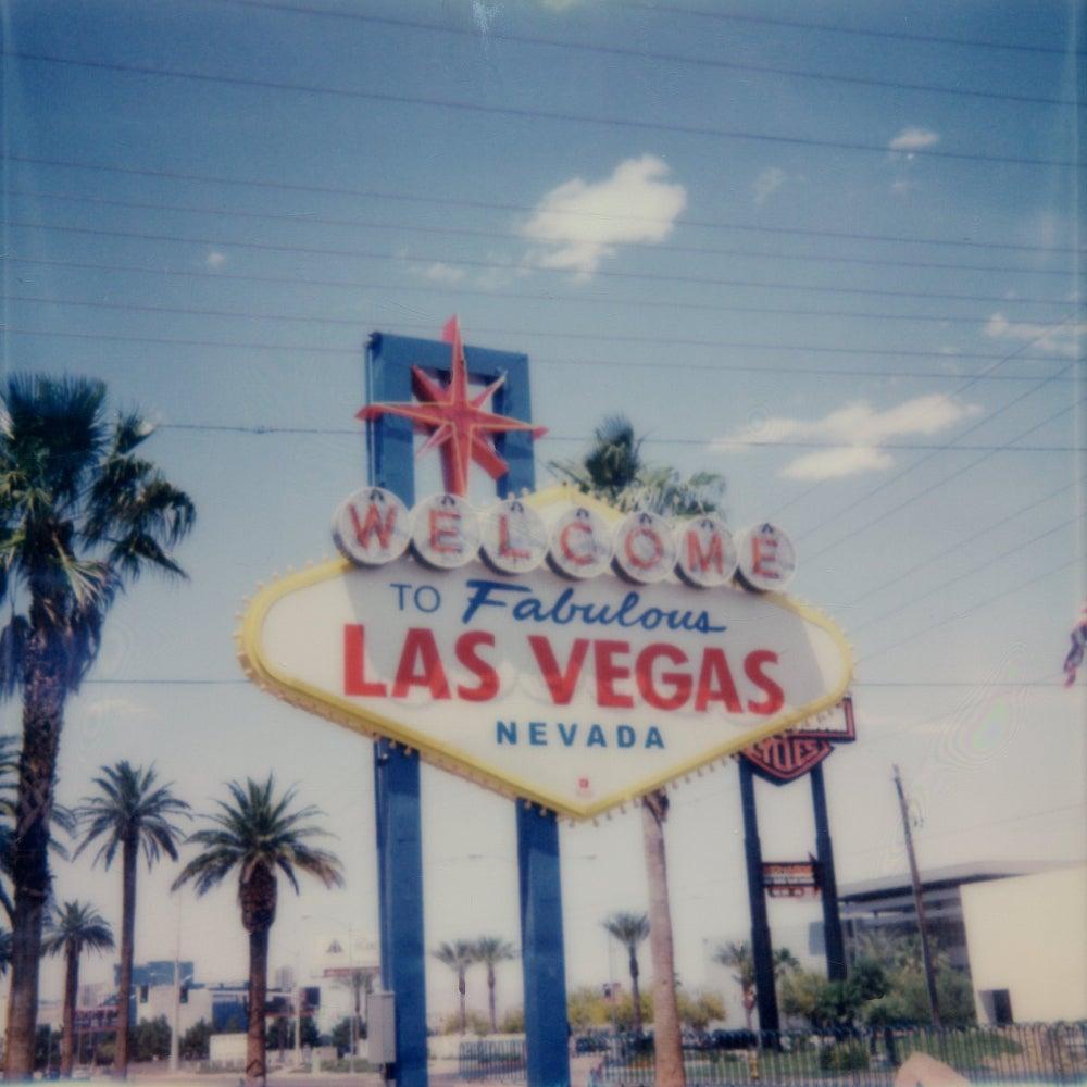 Viva Las Vegas II - Contemporary, Polaroid, 21st Century, Landscape