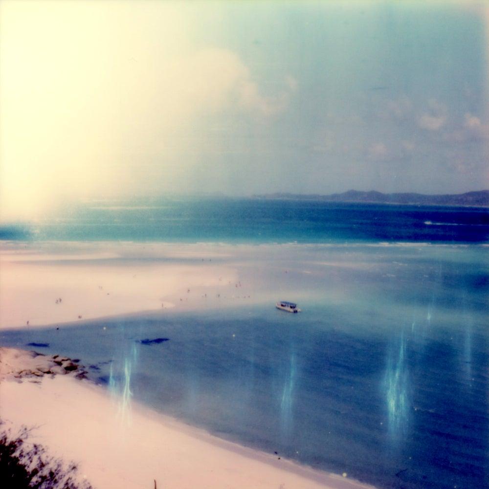 Lazy Calm - Contemporary, Polaroid, Photography, Landscape, Color