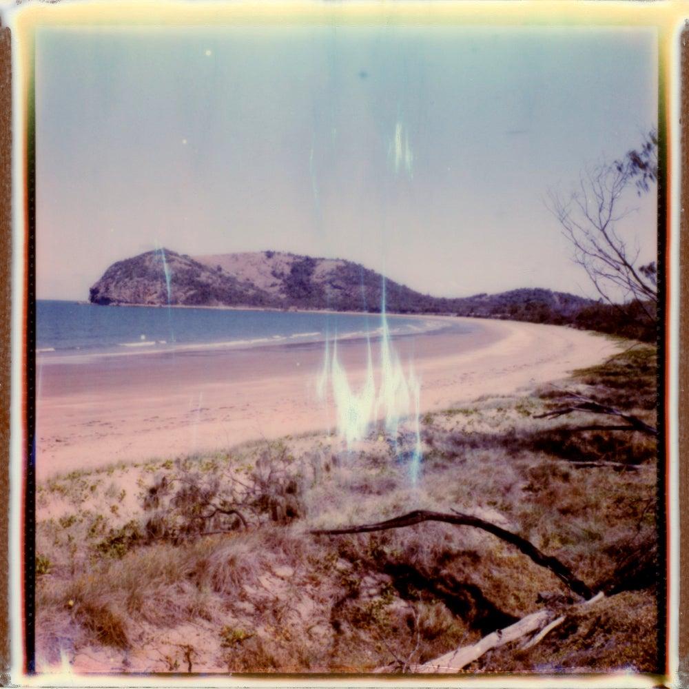 Kemp Beach - Contemporary, Polaroid, Photography, Landscape, Color