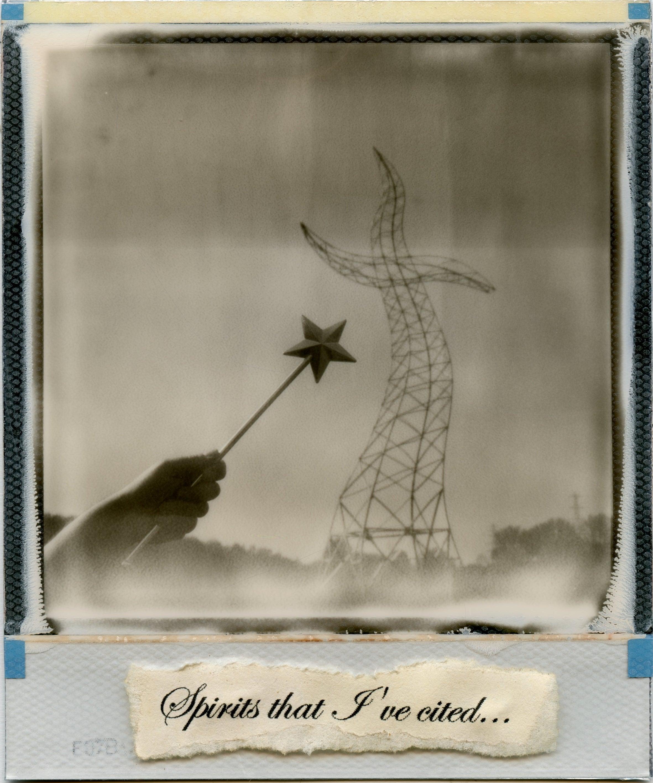 The Sorcerers Apprentice - Polaroid, Black and White, 21st Century, Contemporary
