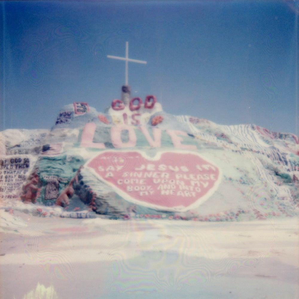 Salvation Mountain - Contemporary, Polaroid, 21st Century, Landscape