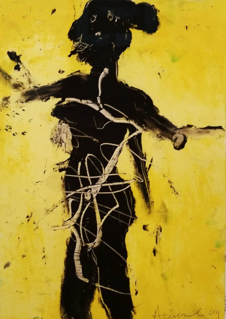 James Havard Figurative Painting - Walking in the Sun
