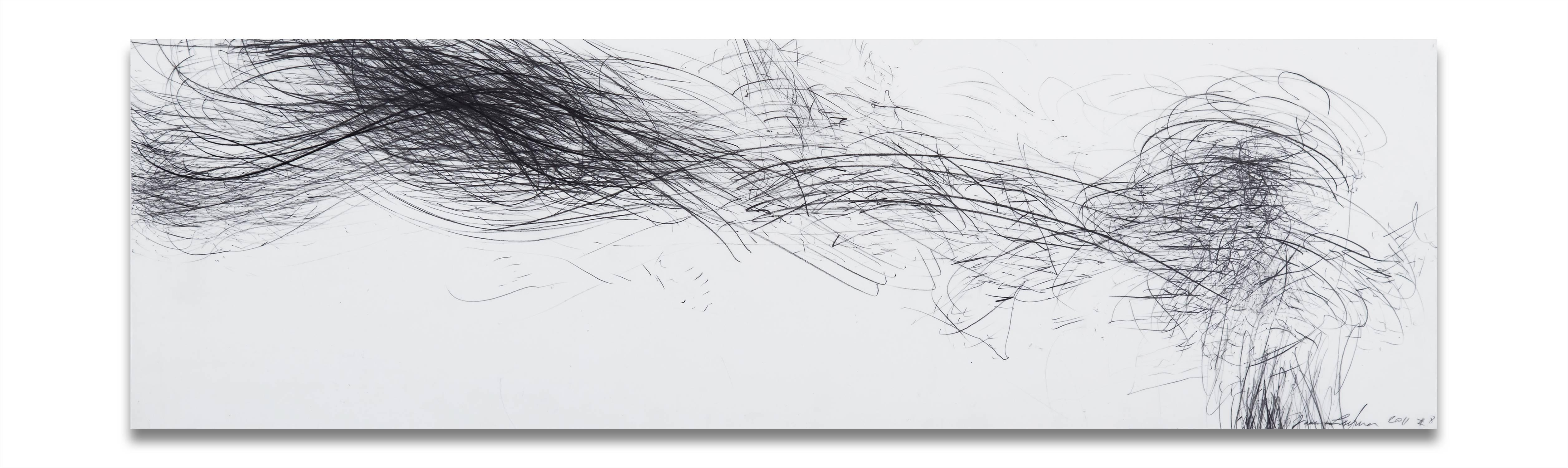 Storm Series Horizontal 8 (Abstract drawing)