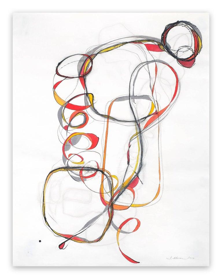 Tracey Adams Abstract Painting - Balancing Act 3