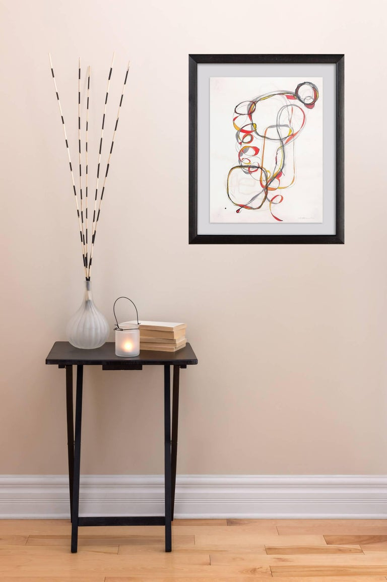 Balancing Act 3 - Painting by Tracey Adams