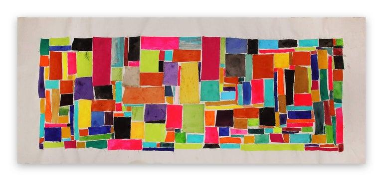 Deanna Sirlin Abstract Painting - On Again