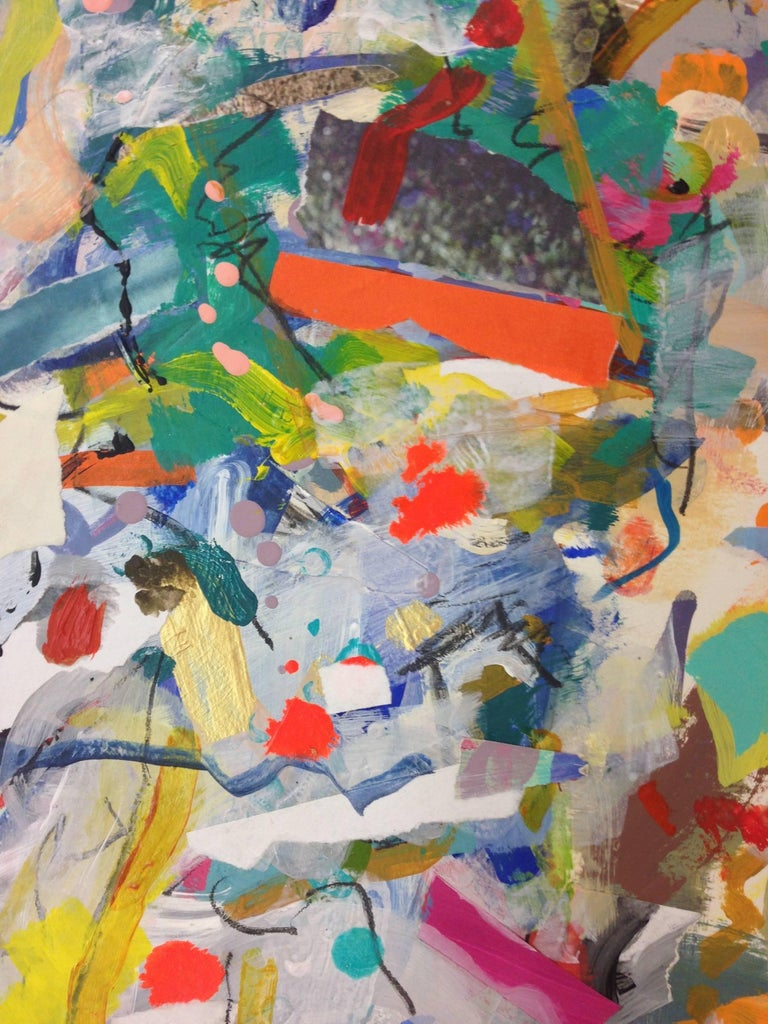 Twisted - Abstract Expressionist Painting by Gina Werfel