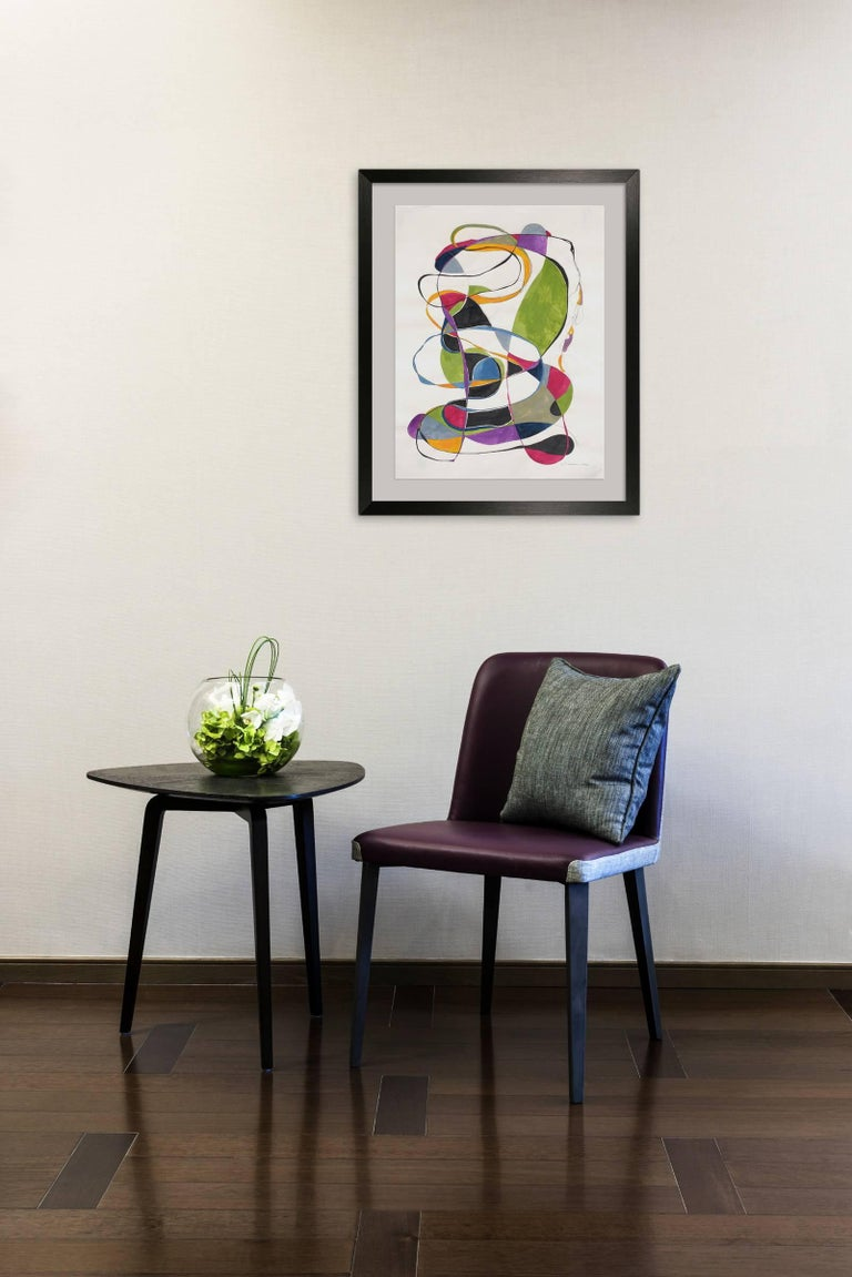 Balancing act 2 - Painting by Tracey Adams